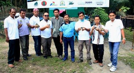 Team of Yayasan SatuCita Lestari Indonesia (Satucita Foundation)