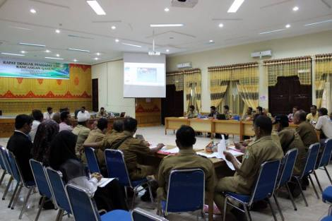 public hearing on painted terrapin regulation aceh tamiang