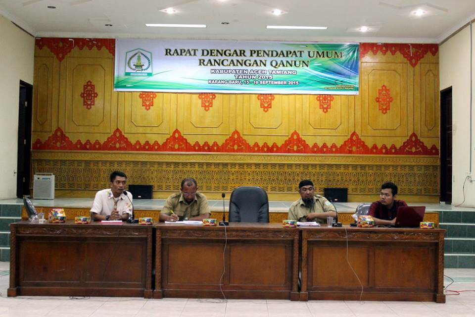 public hearing on painted terrapin regulation aceh