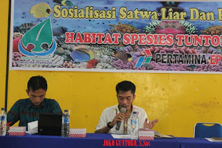 Socialization to strengthen the community group to conserve Painted Terrapin and habitat (Photo:Suparmin)